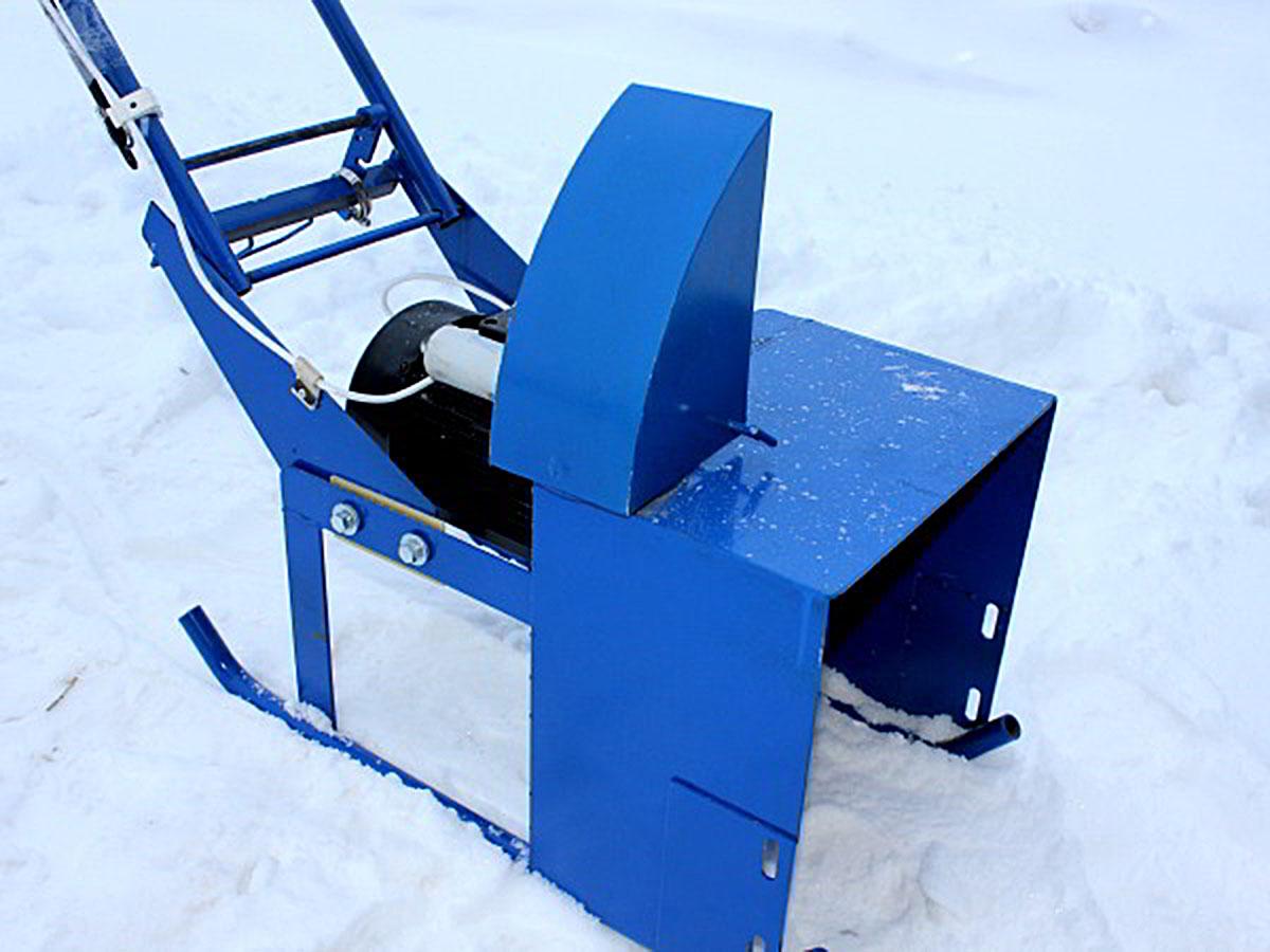 Электрический снегоуборщик ЛопЛош